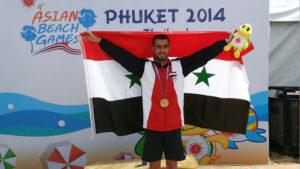 السباح صالح محمد
