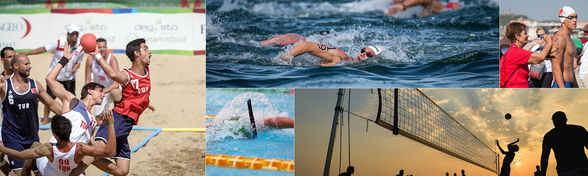 دورة الألعاب الشاطئية المتوسطية باتراس – اليونان 2019