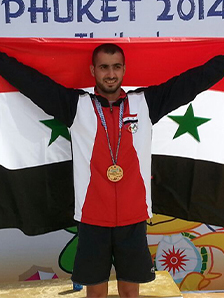 The Swimmer Saleh Mohammad