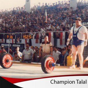 Champion Talal Najar