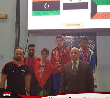 البطولة العربية للجمباز