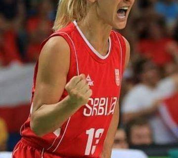 لاعبة صربية مع سلة الساحل
