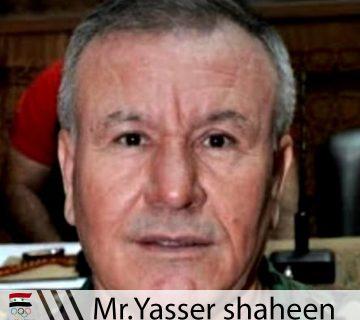 Mr.Yasser Shaheen
