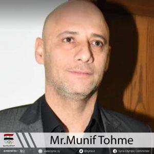 Mr.Munif Tohme