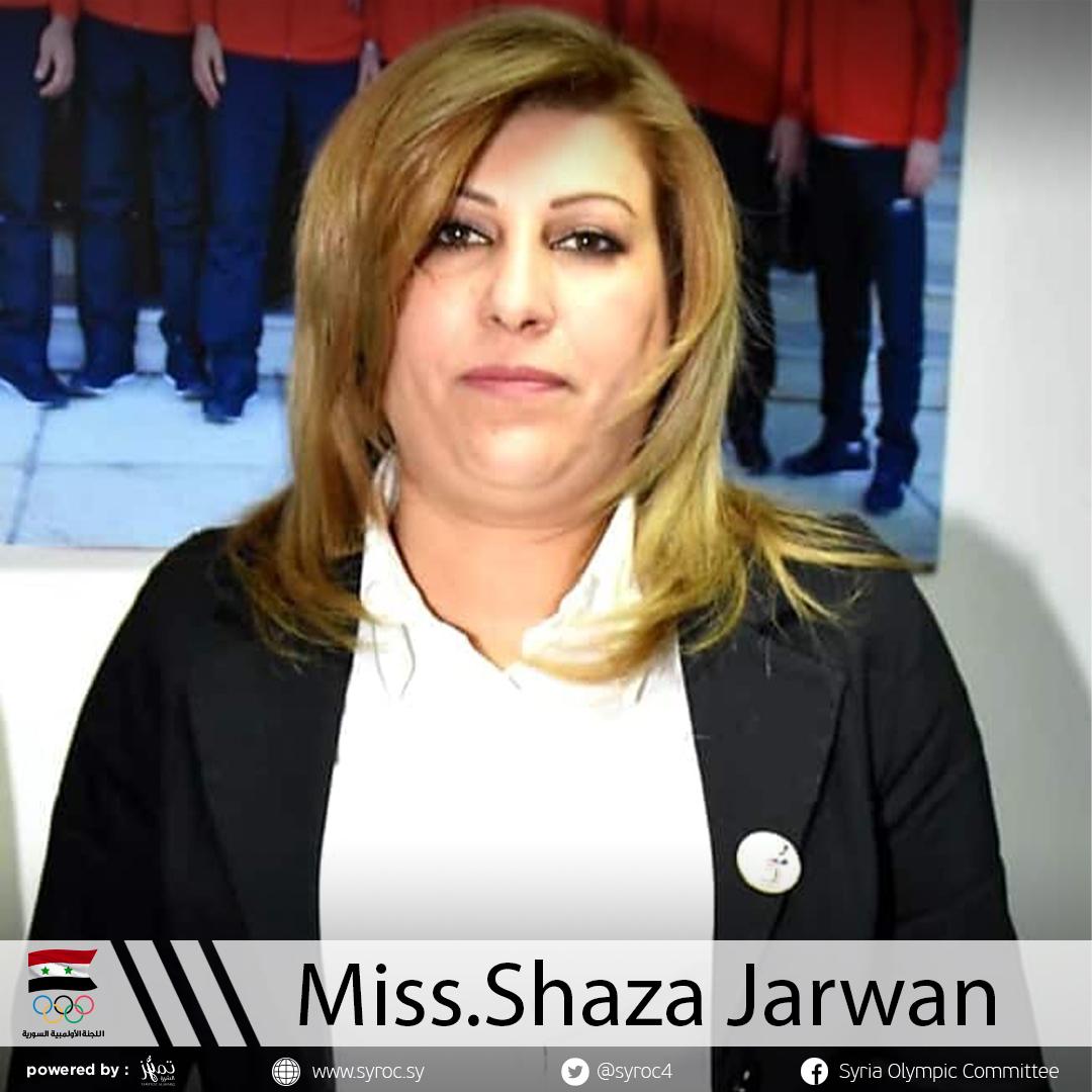 Miss.Shaza Jarwan